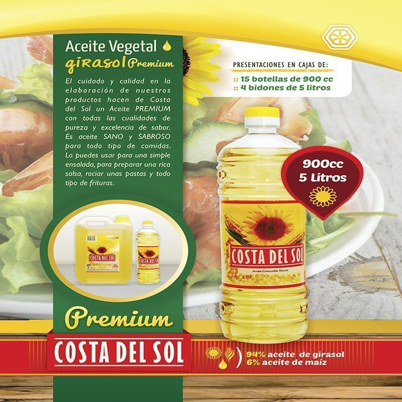 Aceite Vegetal Premium – Tanoni Hnos – Fábrica de Aceites Vegetales